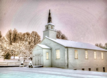 Little white church Asheville NC